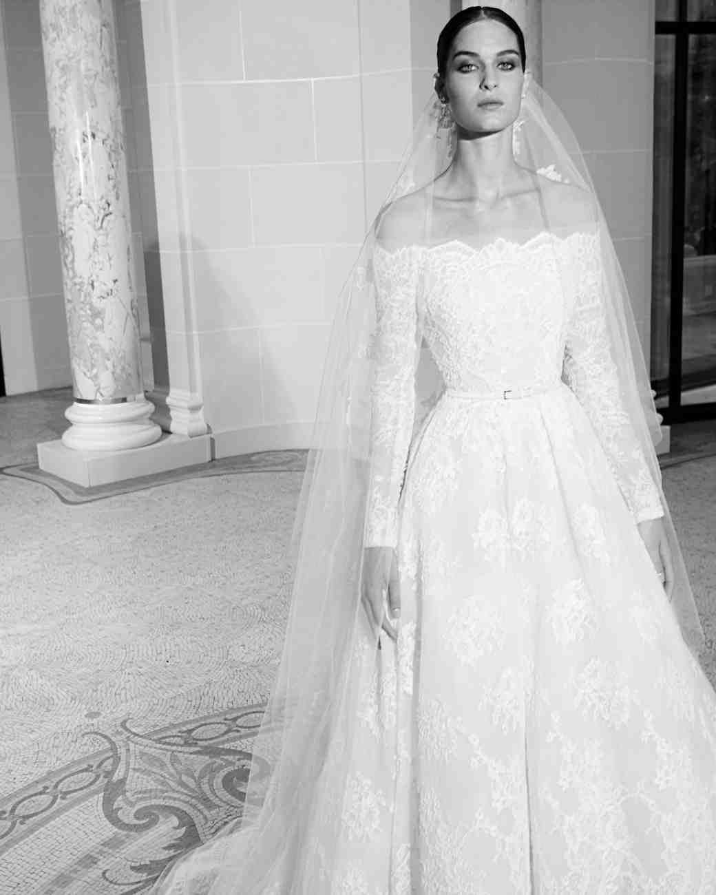Long-Sleeved Wedding Dresses We Love | Martha Stewart Weddings