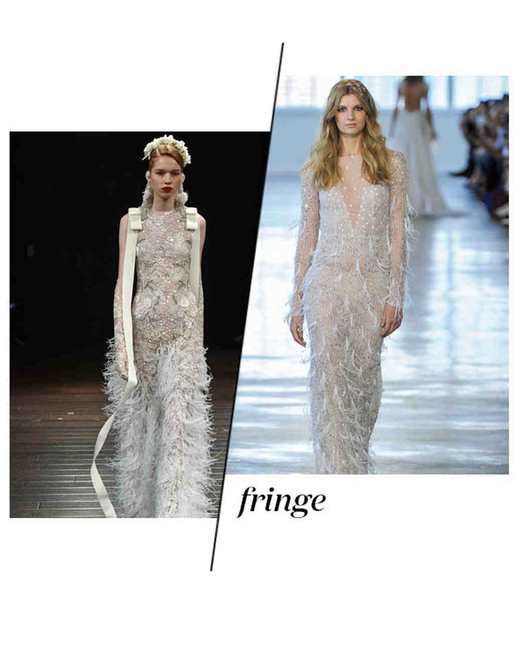 Fall 2018 Wedding Dress Trends, Fringe