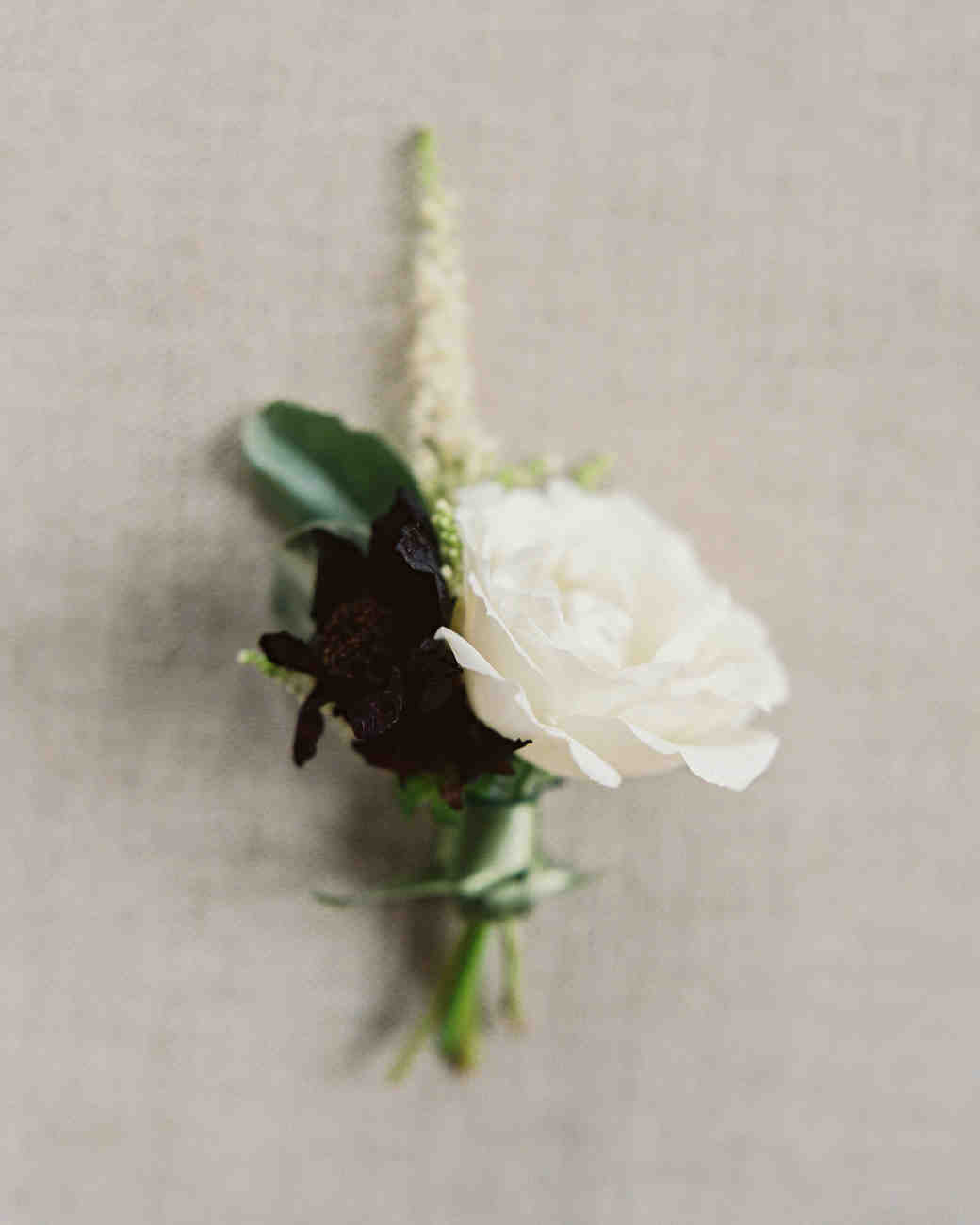 moody boutonniere