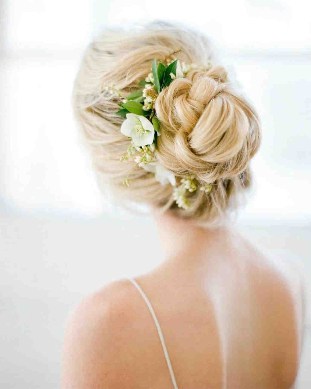 Wedding Hairstyle Flowers: 20 Wedding Hairstyles With Flowers