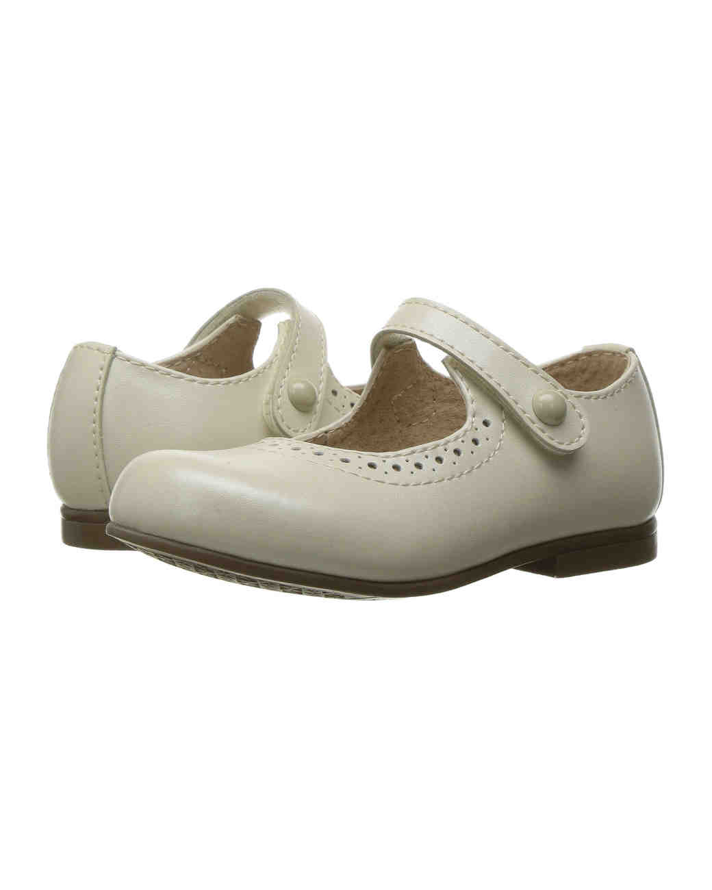 flower girl shoes footmates button strap