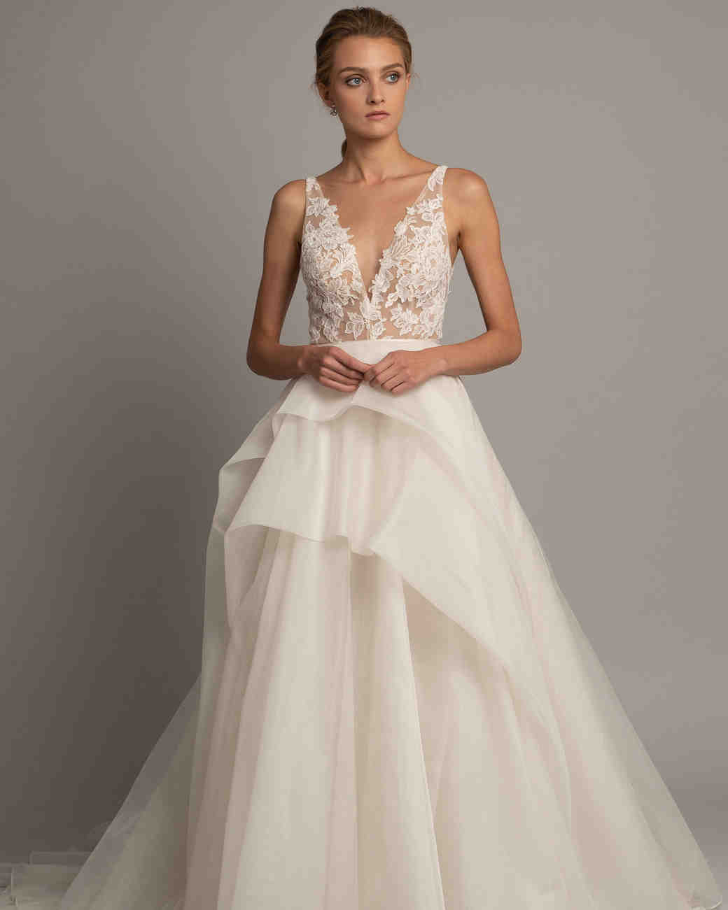 ef5c74252 Jenny Yoo Collection Fall 2019 Wedding Dress Collection   Martha Stewart  Weddings