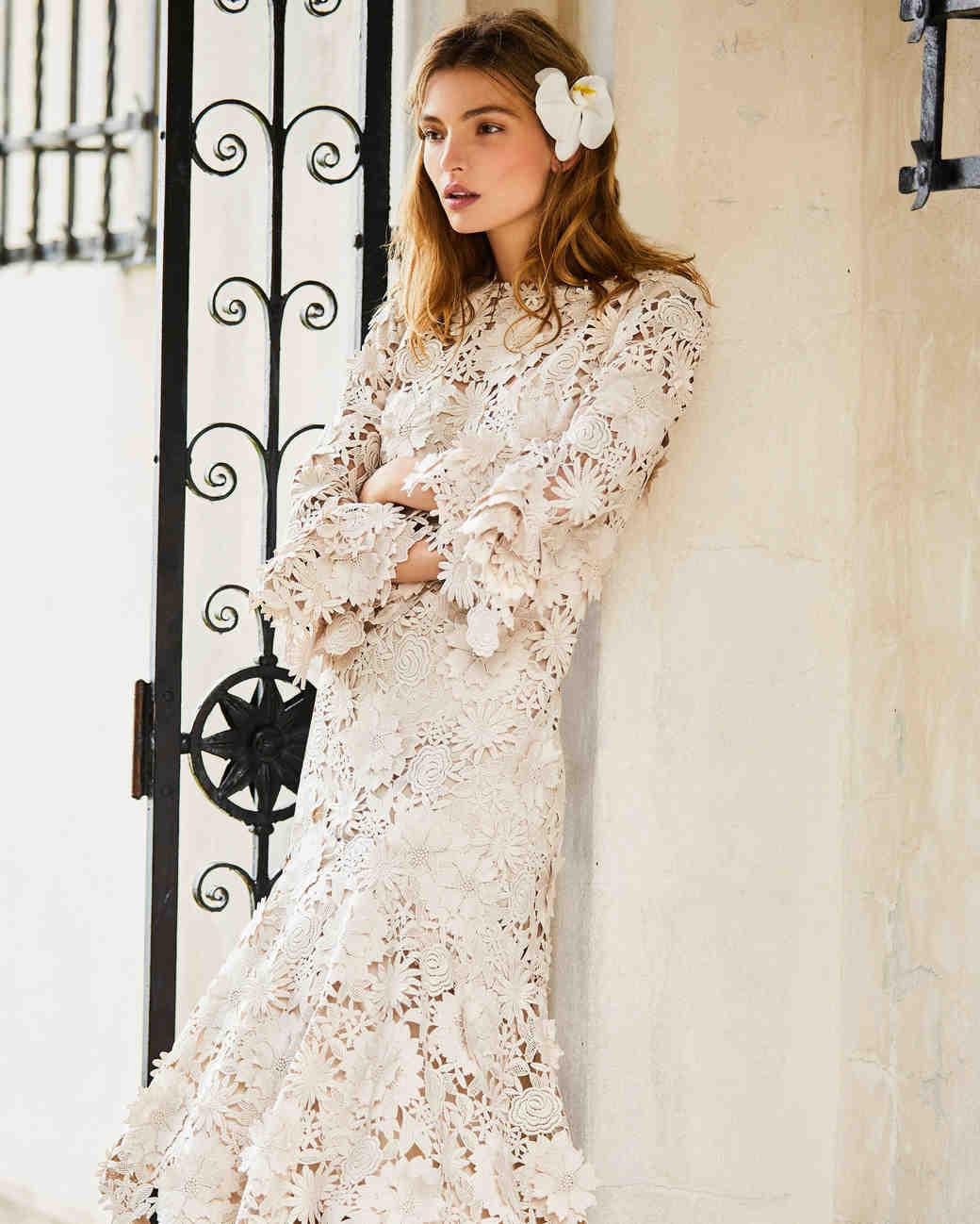 Carolina Herrera Spring 2018 Wedding Dress Collection | Martha ...