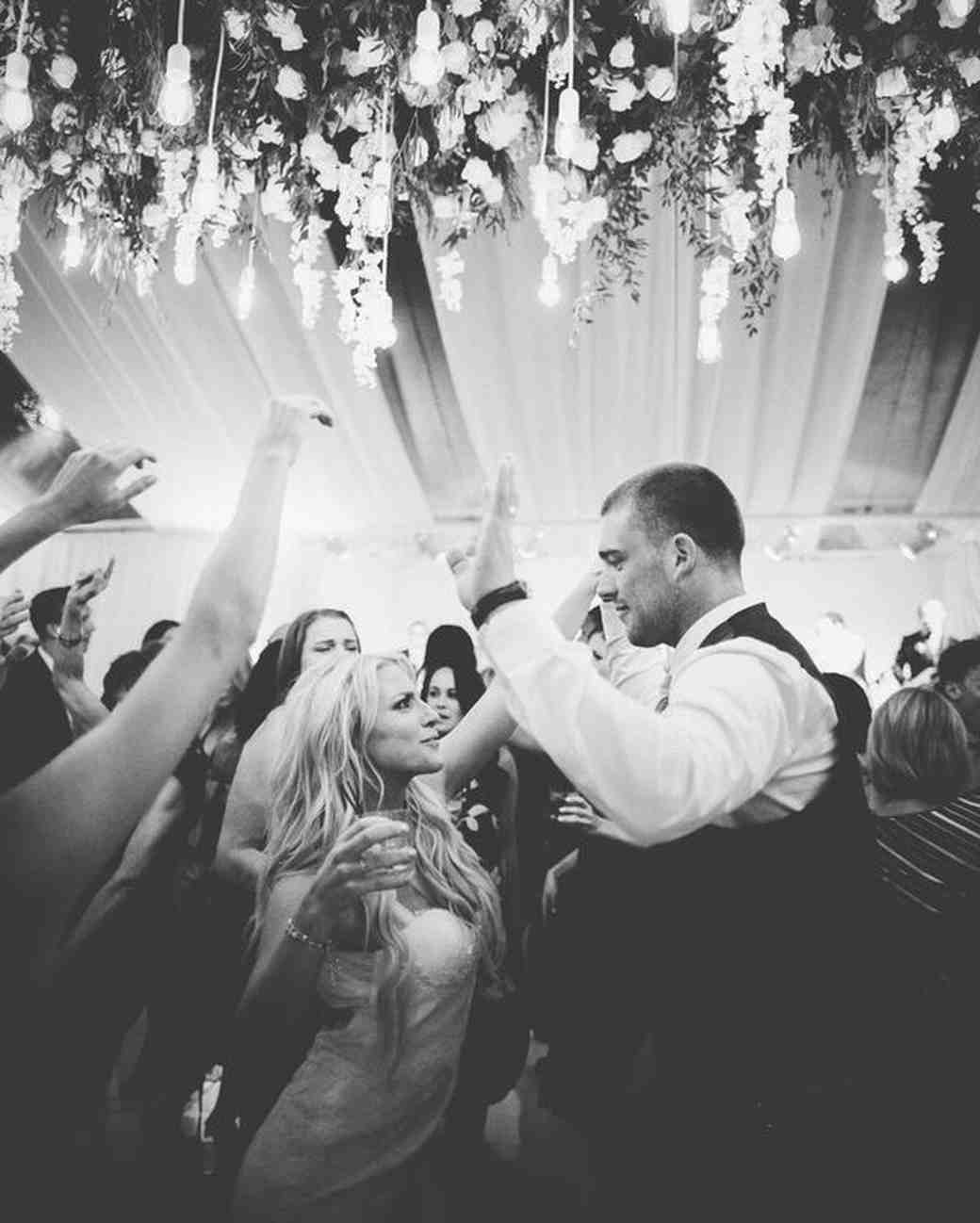julie johnston zach ertz dancing wedding