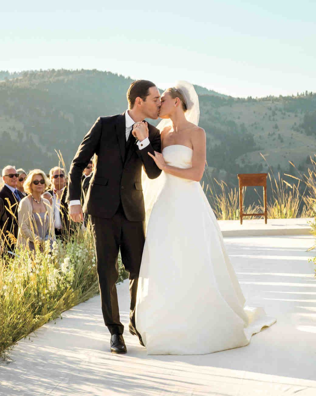 ?Kate Bosworth and husband Michael Polish on their wedding