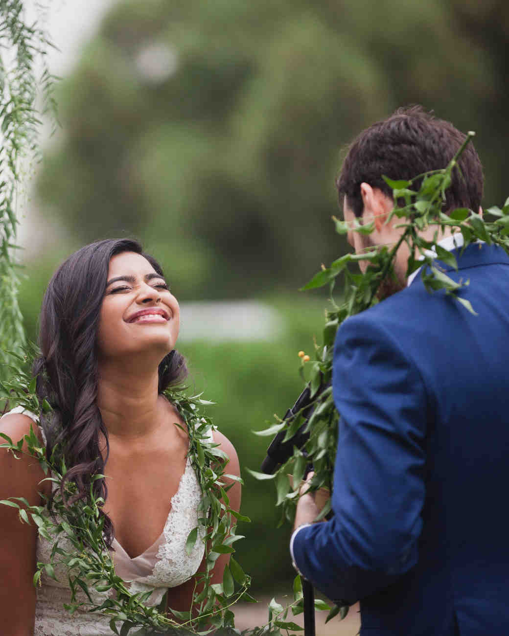 california indian jewish wedding vow exchange