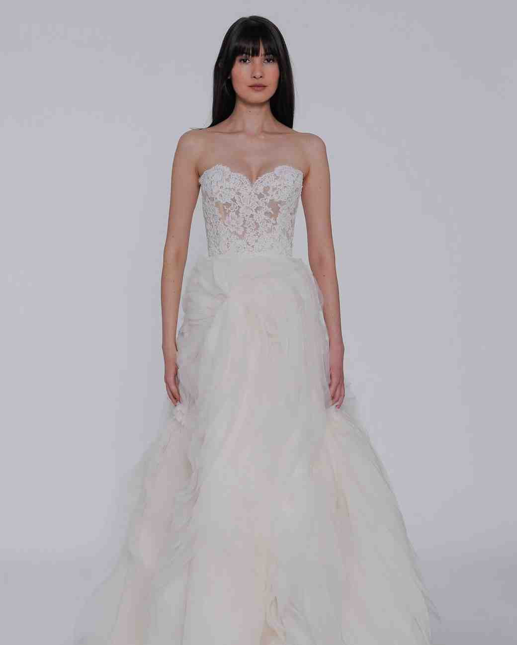 Sophia Tolli Bridal Spring 2019: Lazaro Spring 2019 Wedding Dress Collection