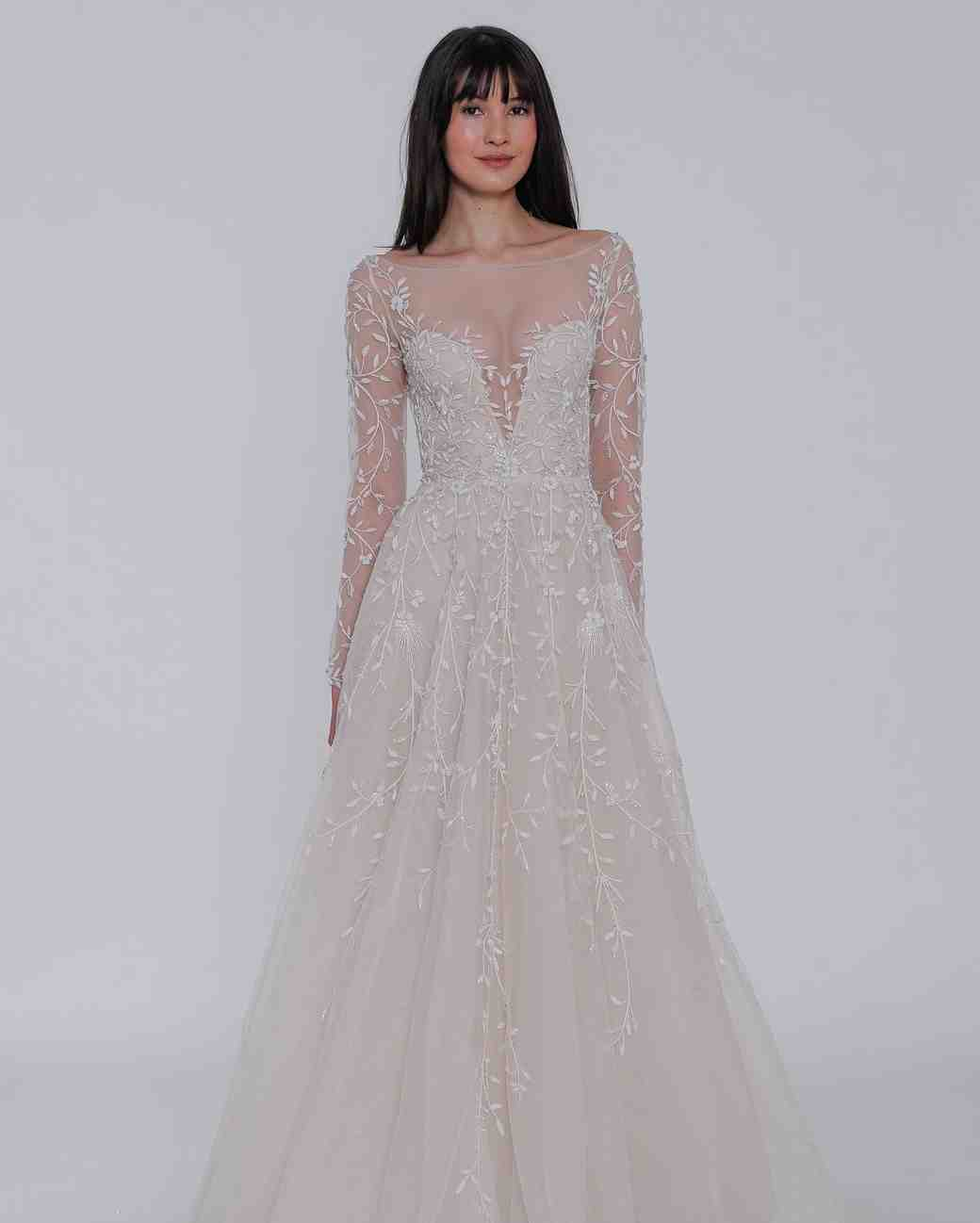 "lazaro ""isabela"" wedding dress spring 2019"