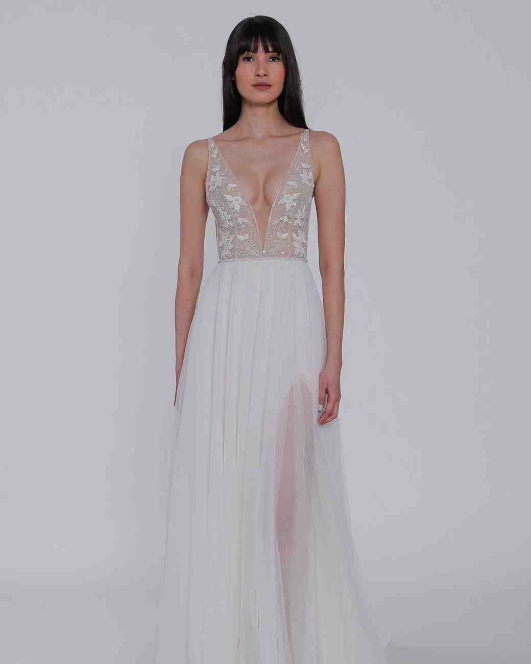 Lazaro Spring 2018 Wedding Dress Collection: Lazaro Spring 2019 Wedding Dress Collection