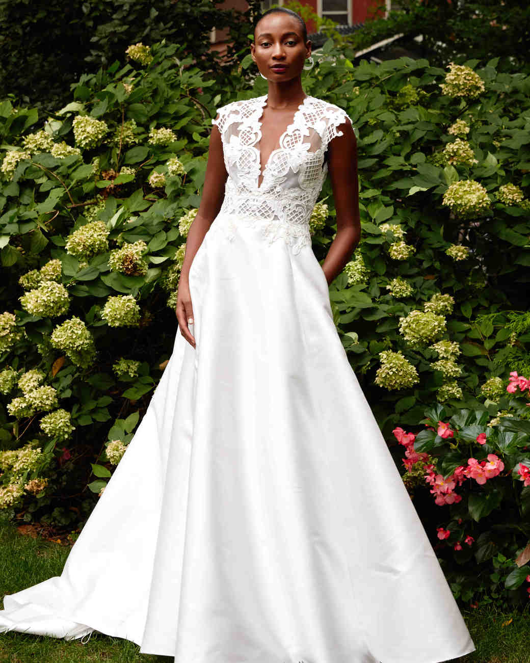 lela rose A-Line wedding dress fall 2019