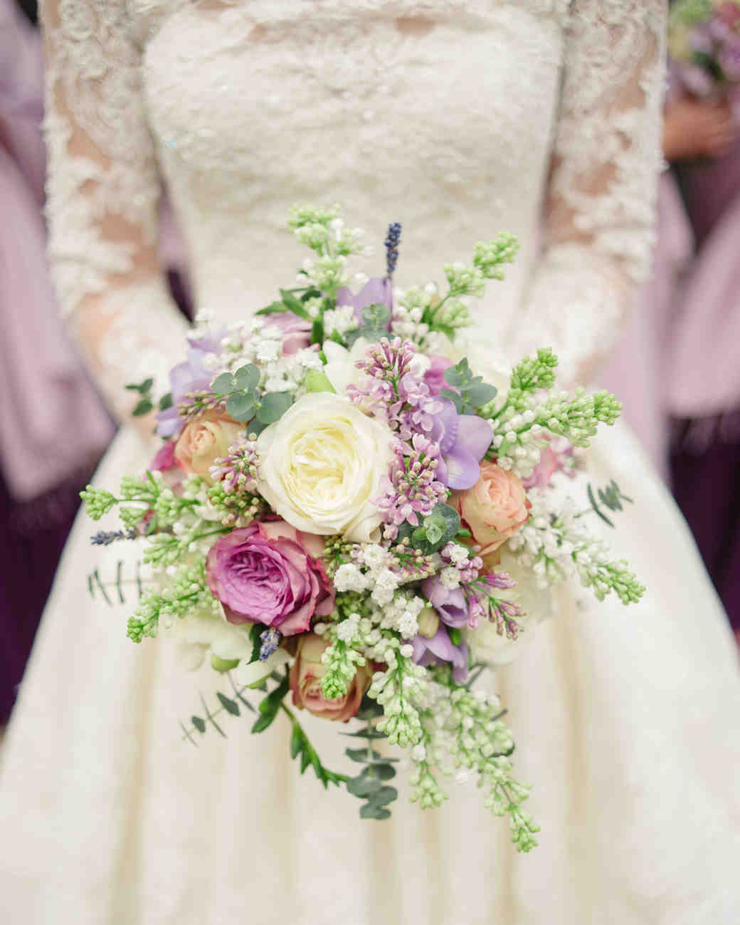 Colorful Lilac Bouquet