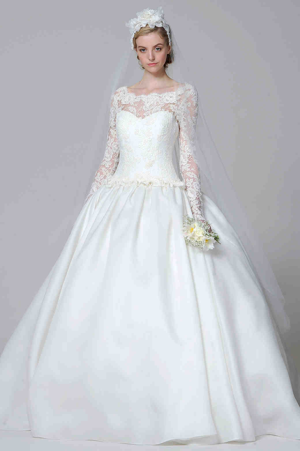 Long Sleeve Wedding Dresses Spring 2013 Bridal Fashion Week