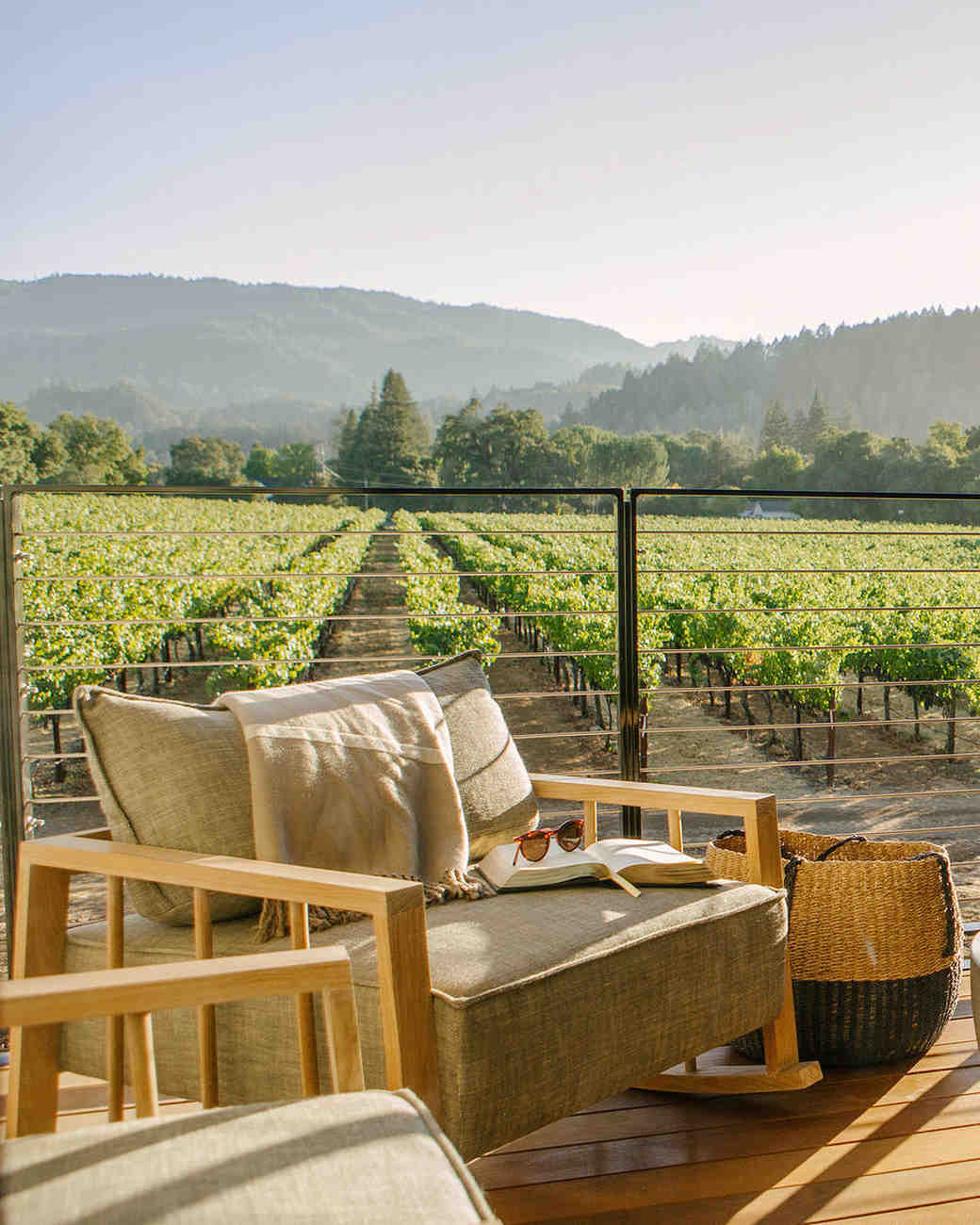 napa valley hotel seating