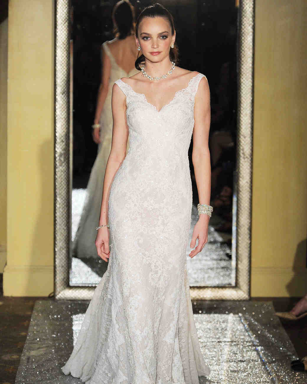 Oleg Cassini Spring 2017 Wedding Dress Collection | Martha Stewart ...