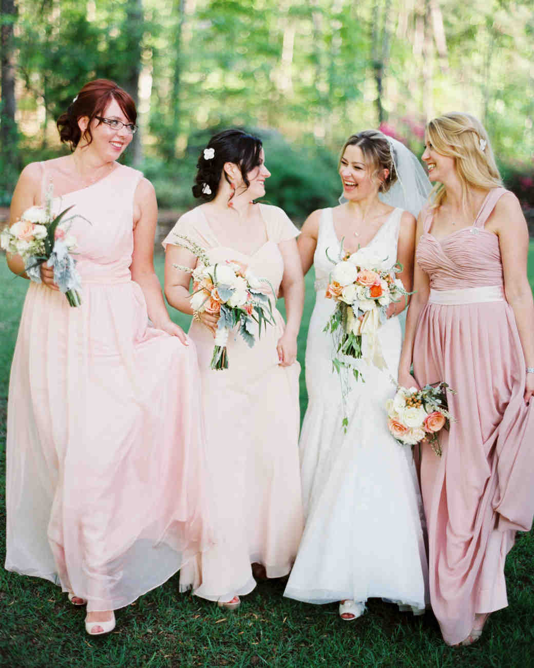 41 reasons to love the mismatched bridesmaids look martha stewart 41 reasons to love the mismatched bridesmaids look martha stewart weddings ombrellifo Images