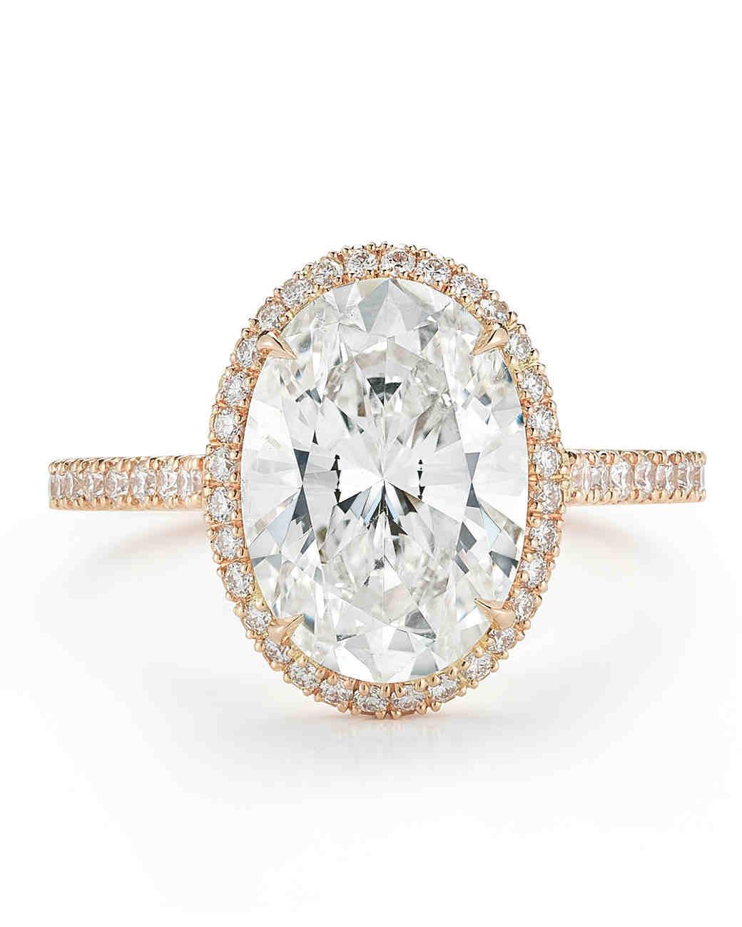 oval engagement rings for the bride to be martha stewart weddings - Oval Wedding Rings