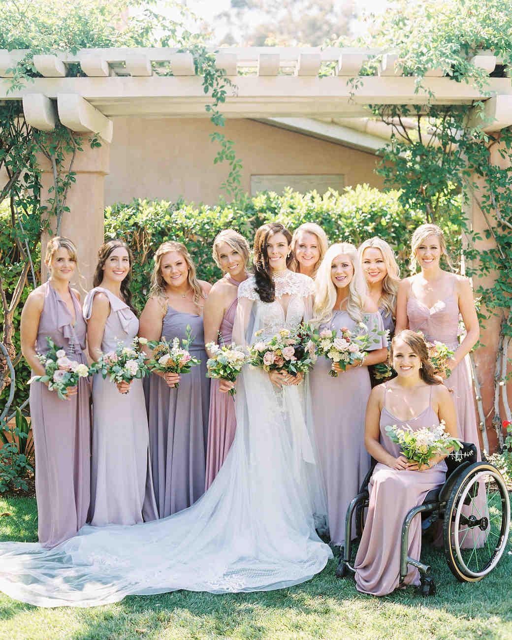 paige zack wedding bridesmaids