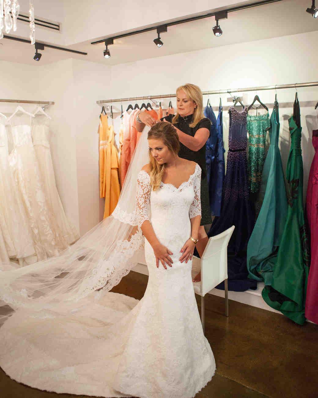 Inside Pamella Roland S Daughter Wedding Dress Ing Martha Weddings