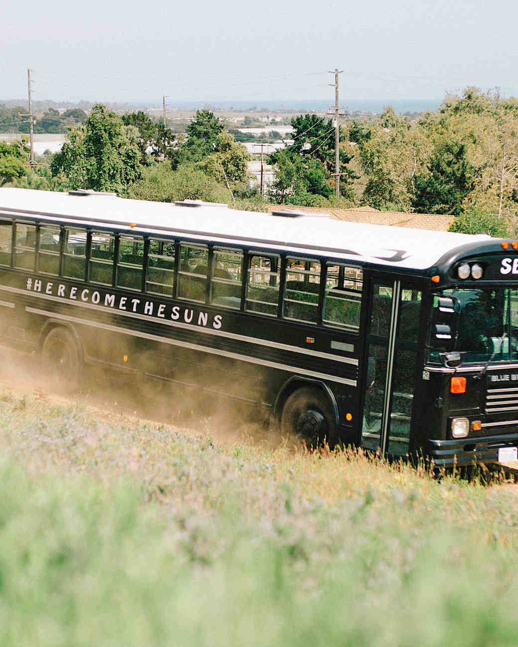 perri phil wedding bus