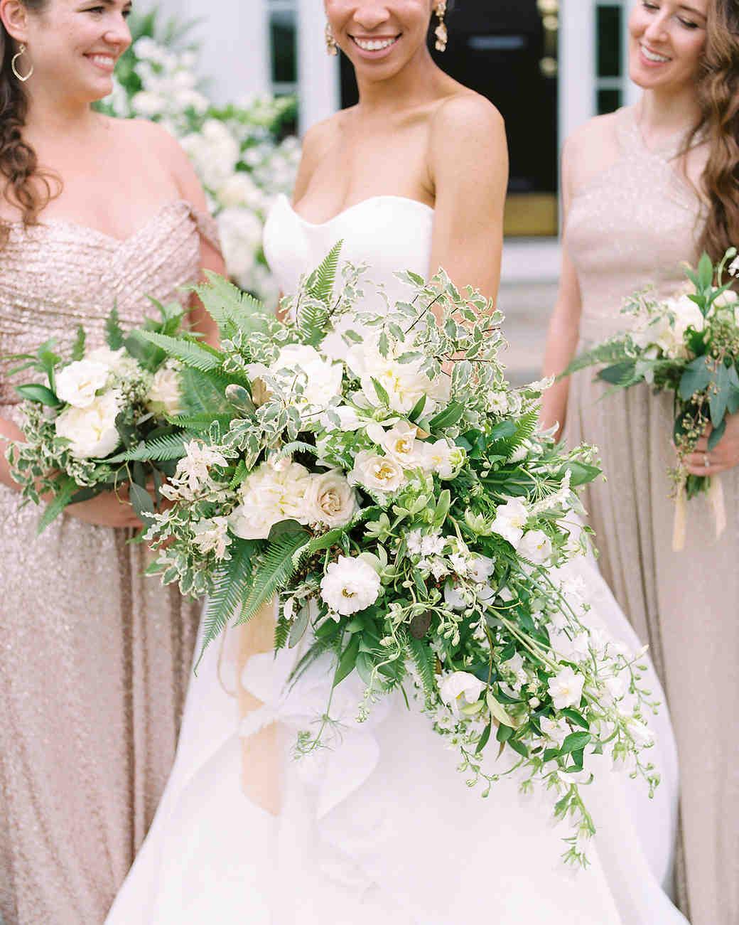 pillar paul wedding bouquet