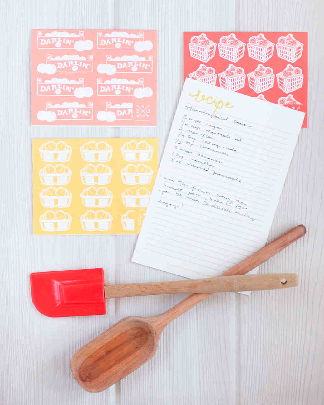 10 recipe cards that are pretty enough to become bridal shower heirlooms