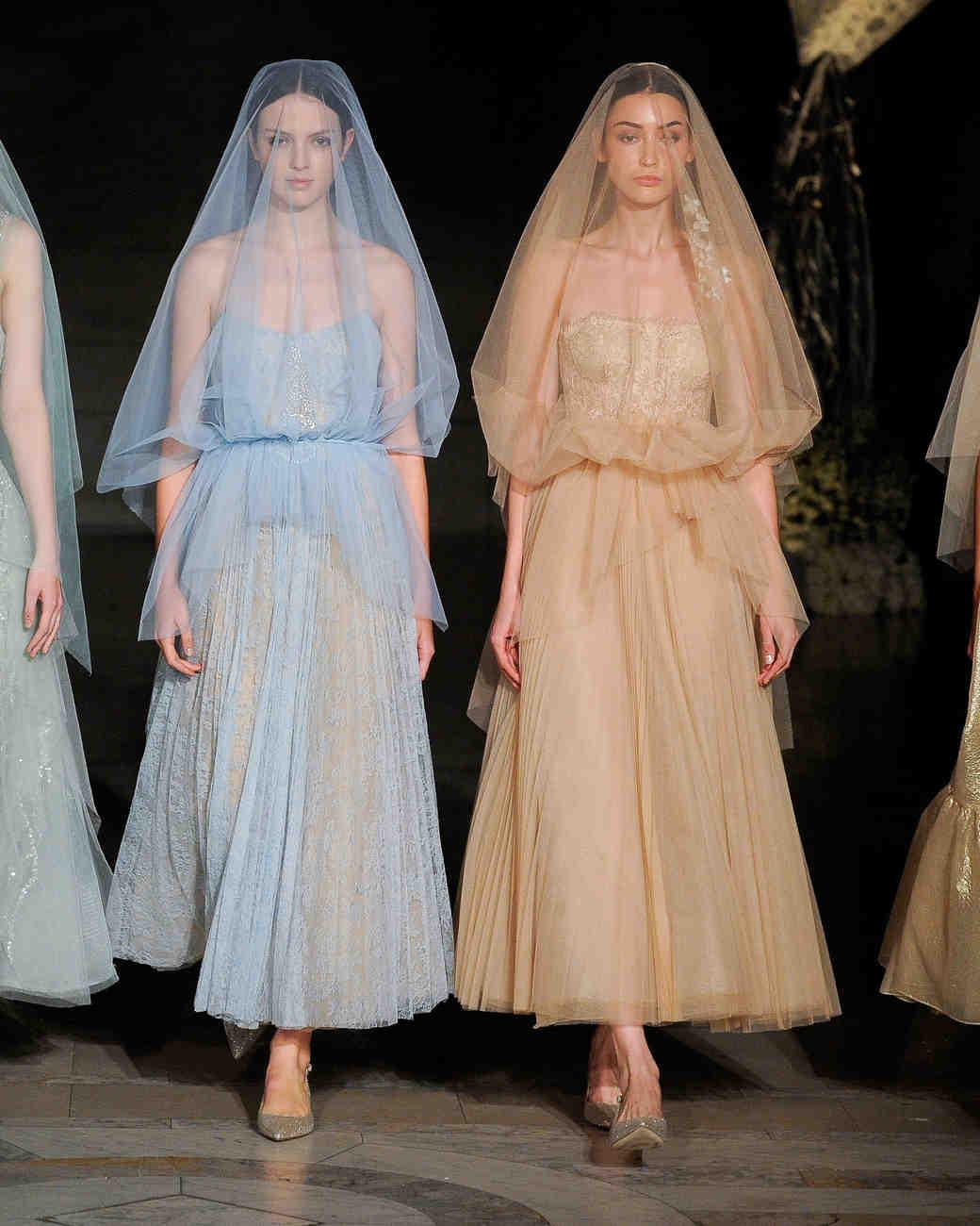 reem acra fall 2019 vertical ruffle sheer wedding dress