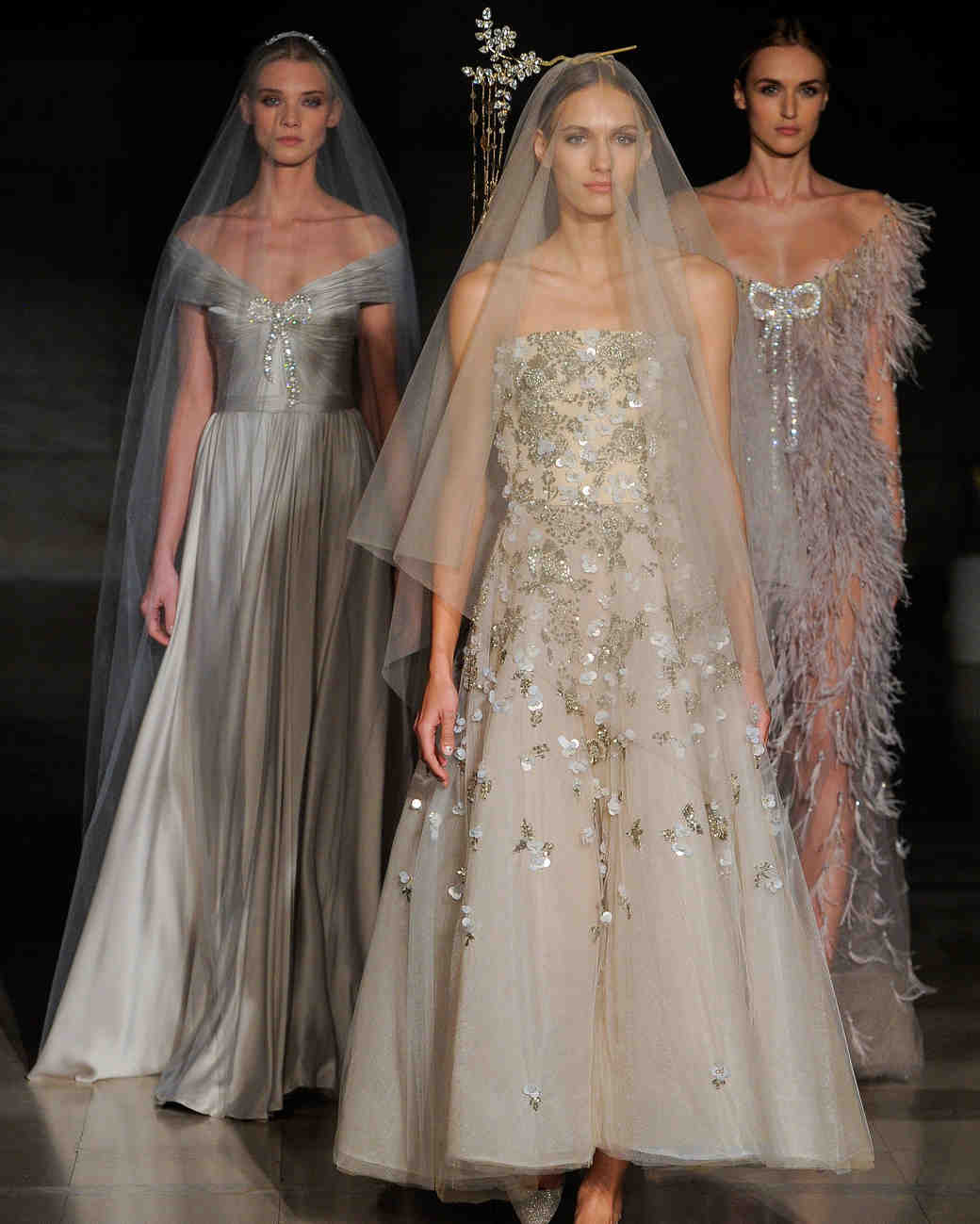 Reem Acra Wedding Dress: Reem Acra's New Wedding Dresses: The Celebration