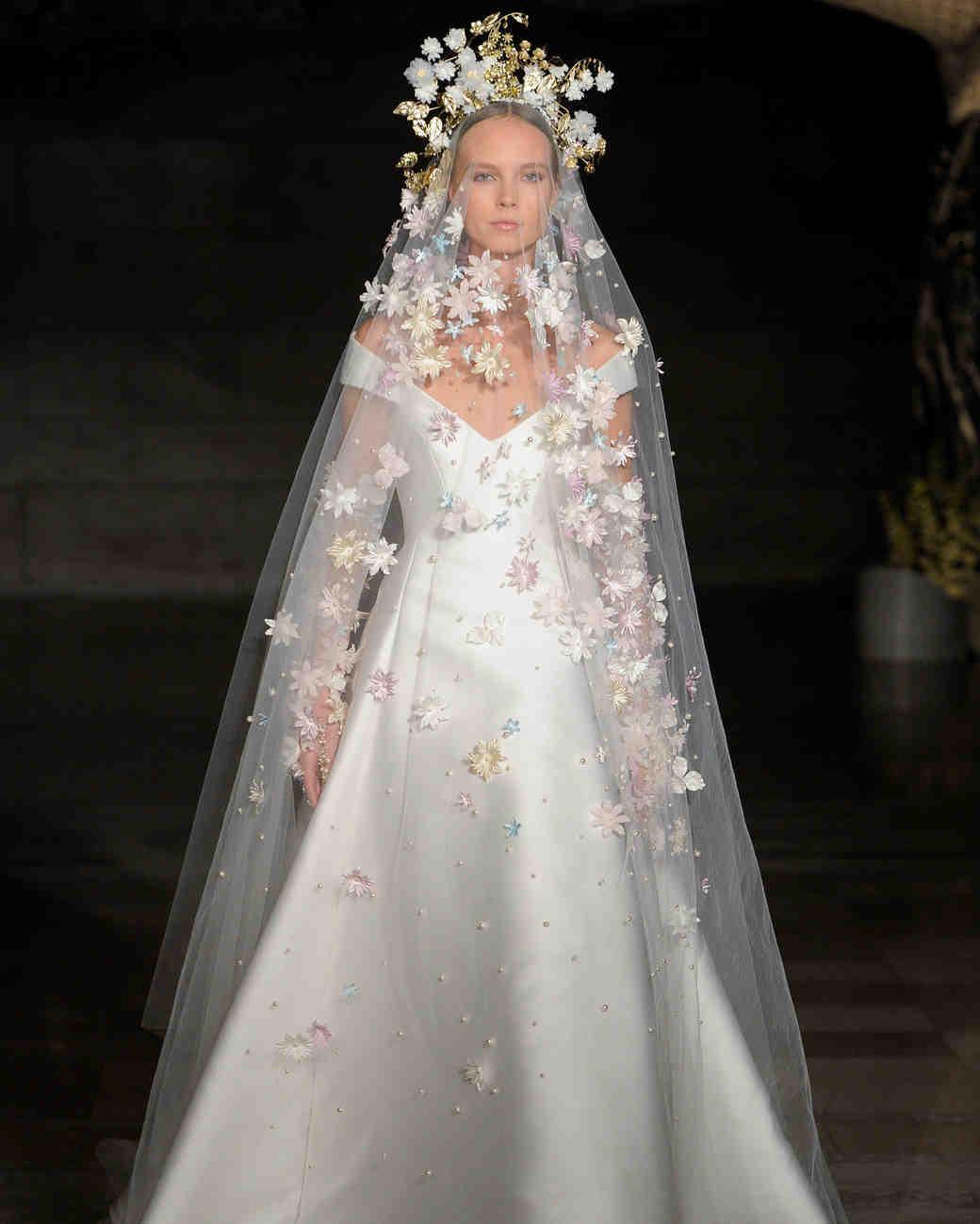 Reem Acra\'s New Wedding Dresses: The Celebration Collection | Martha ...