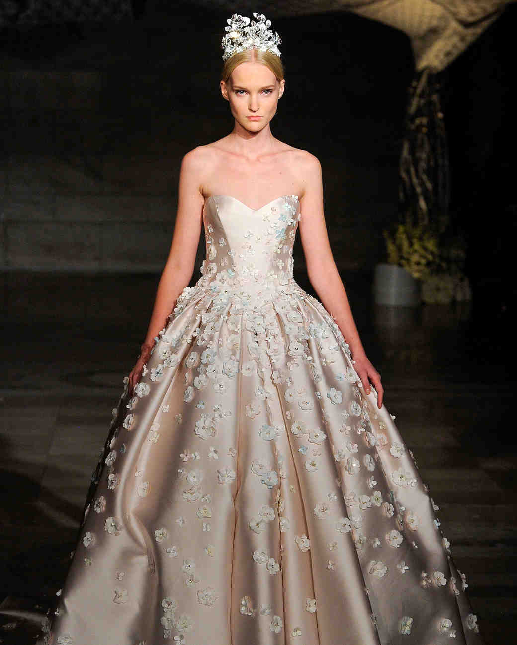 Wedding Dresses: Ultra-Romantic Floral Wedding Dresses