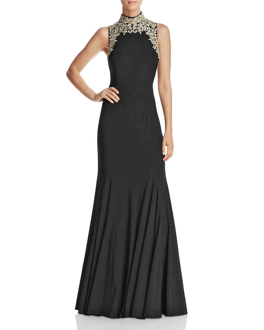 Avery G Embroidered Gown