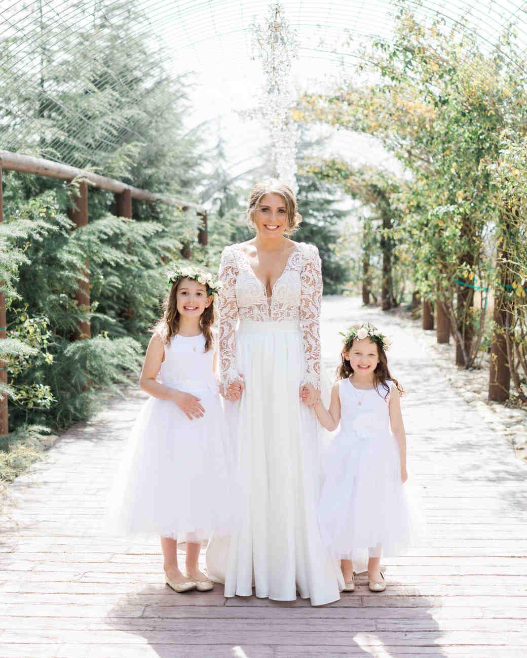 susie joe wedding flower girls