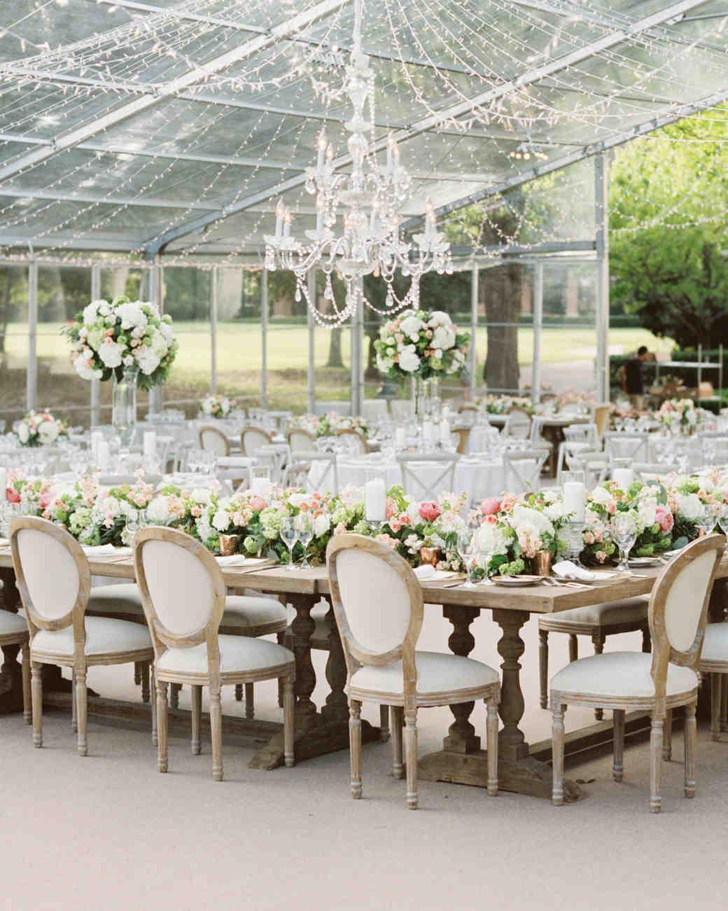 28 Tent Decorating Ideas That Will Upgrade Your Wedding Reception | Martha Stewart Weddings & 28 Tent Decorating Ideas That Will Upgrade Your Wedding Reception ...