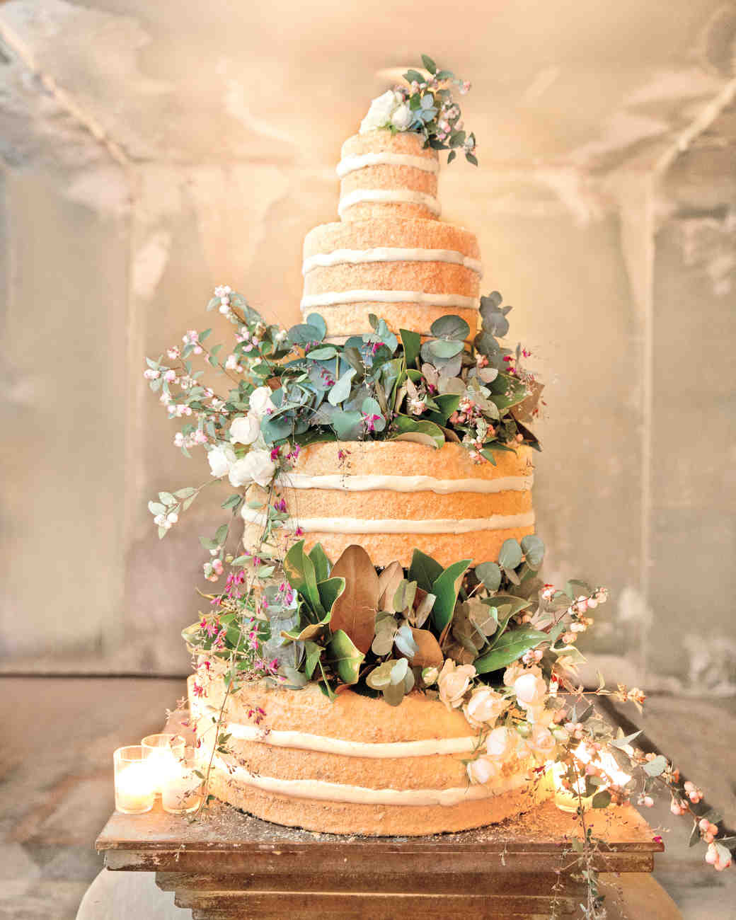 Beautiful Naked Wedding Cake Ideas-8633