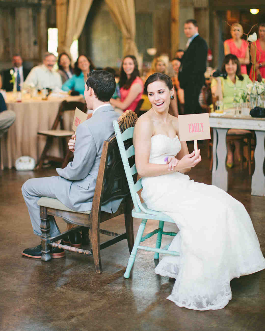 Fun Wedding Games That'll Keep Guests Laughing