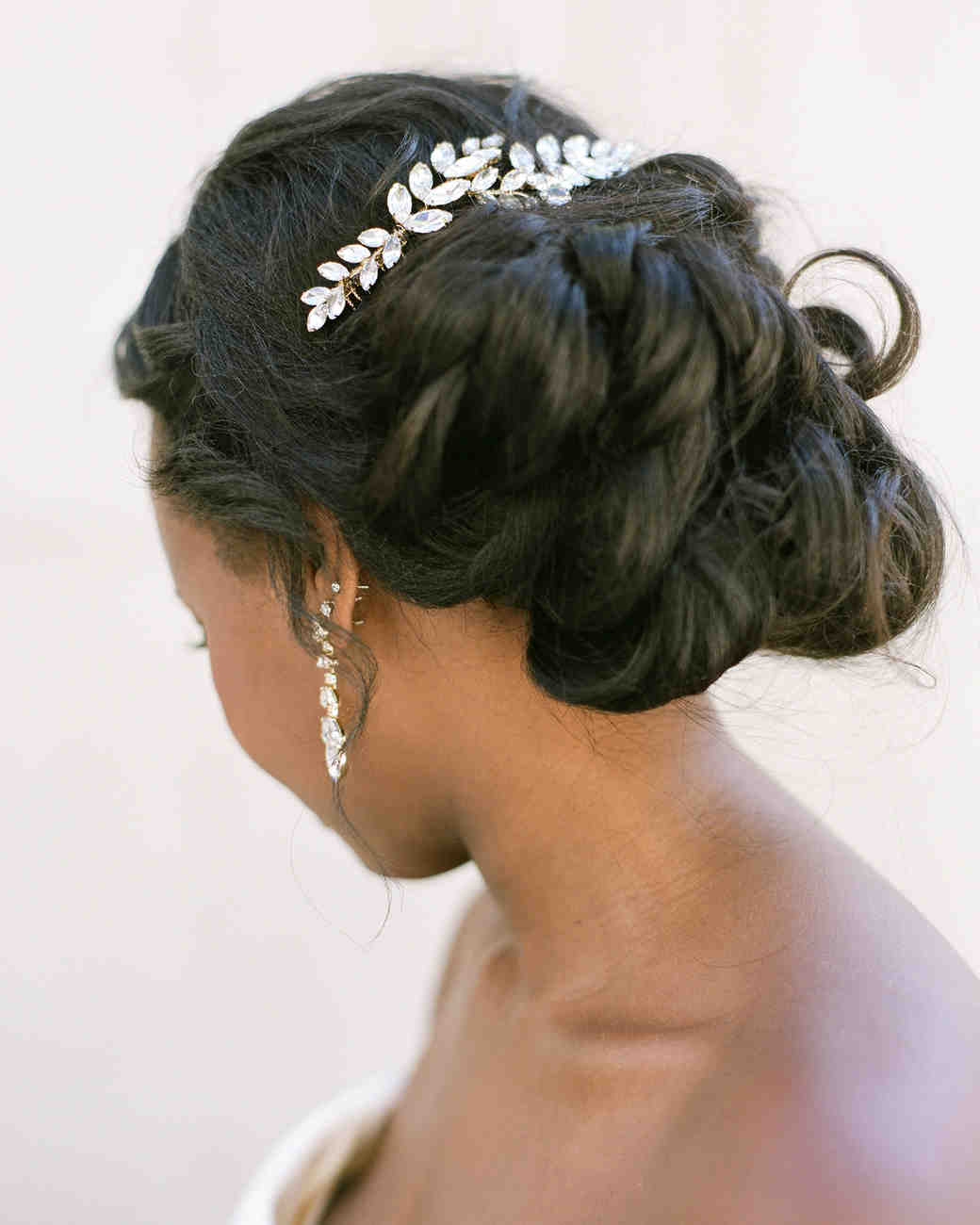 anwuli patrick wedding updo