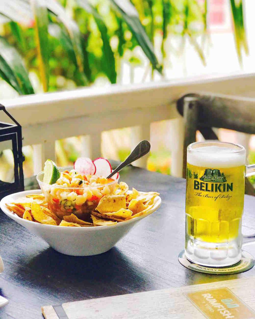 beer fish dish