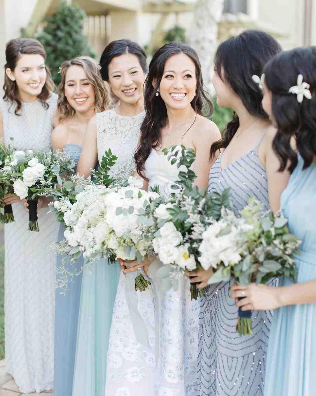 da088cefd1 20 Blue Wedding Color Palettes We Love