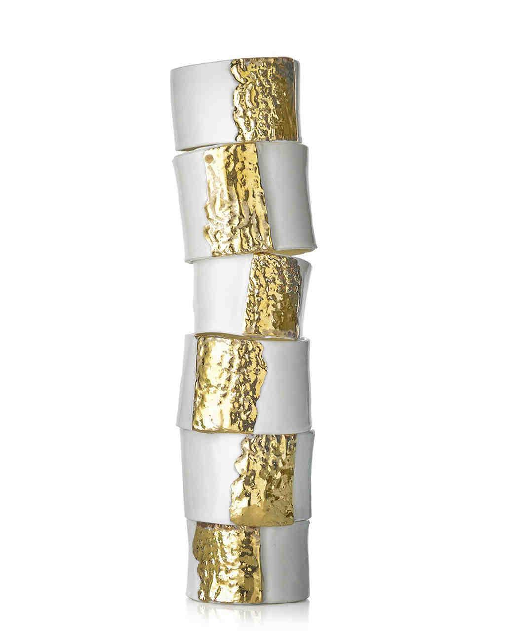 gold napkin ring