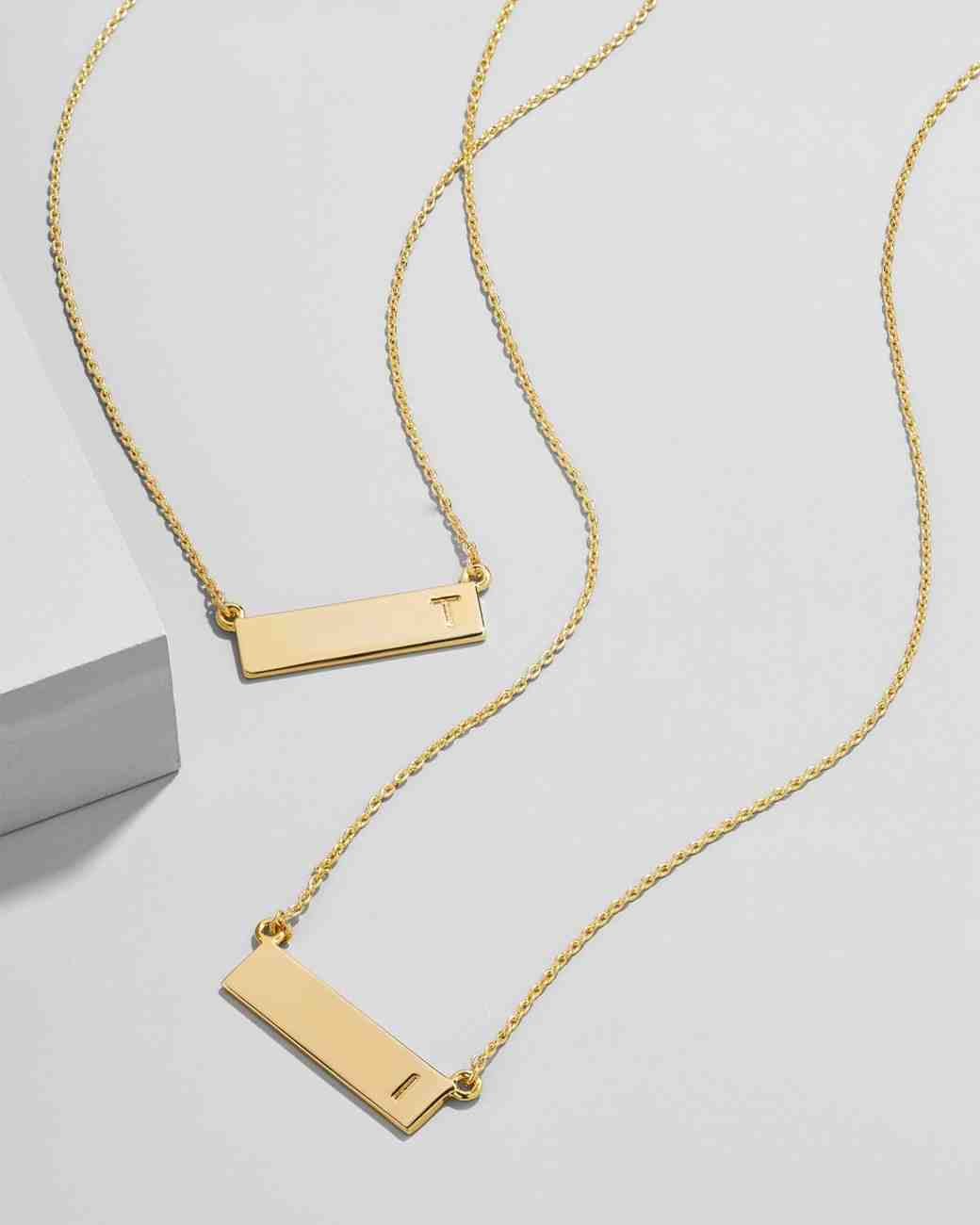 baublebar initial bar pendant necklace