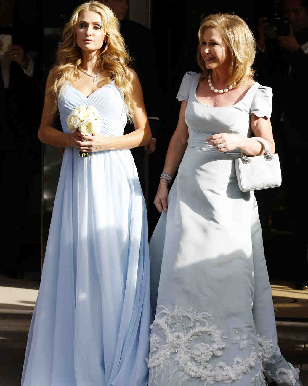 Celebrity Mother of the Bride Dresses