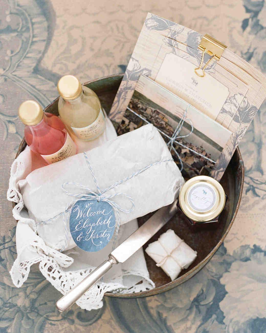 & 46 Welcome Bags from Real Weddings | Martha Stewart Weddings