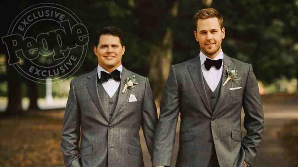 Dan Amboyer and Eric Berger Wedding