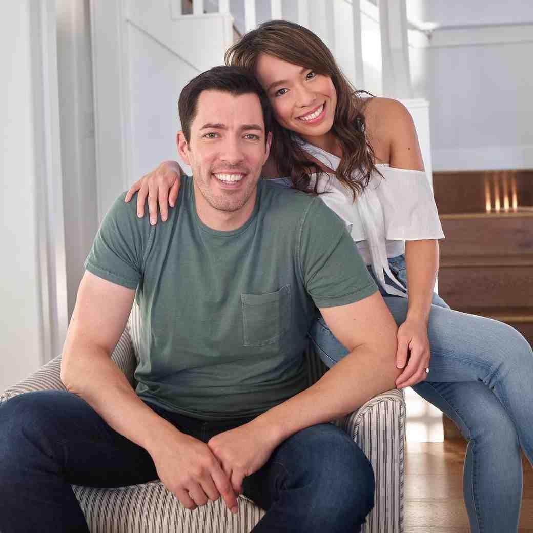 Property Brothers star Drew Scott and fiancee Linda Phan