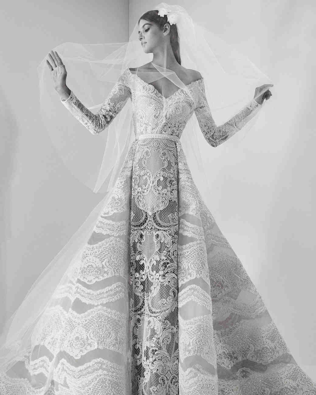 Black And White Wedding Gowns 61 Fabulous Elie Saab Fall Wedding