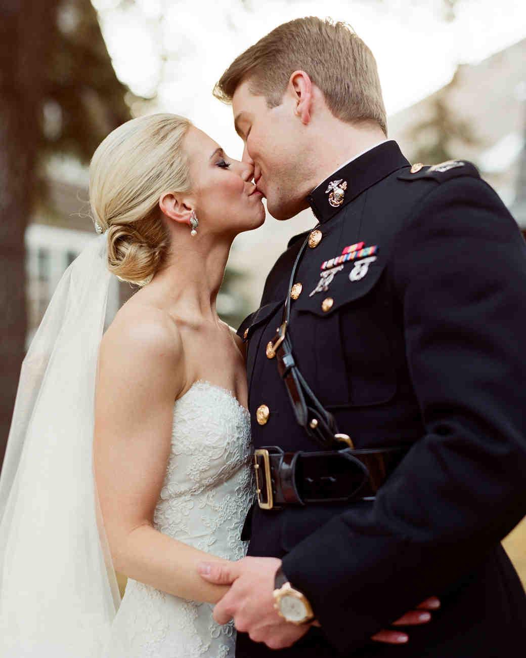 Destination Wedding Elizabeth And Patrick Jackson Hole Wyoming Martha Stewart Weddings: Marine Dress Blues Wedding At Reisefeber.org