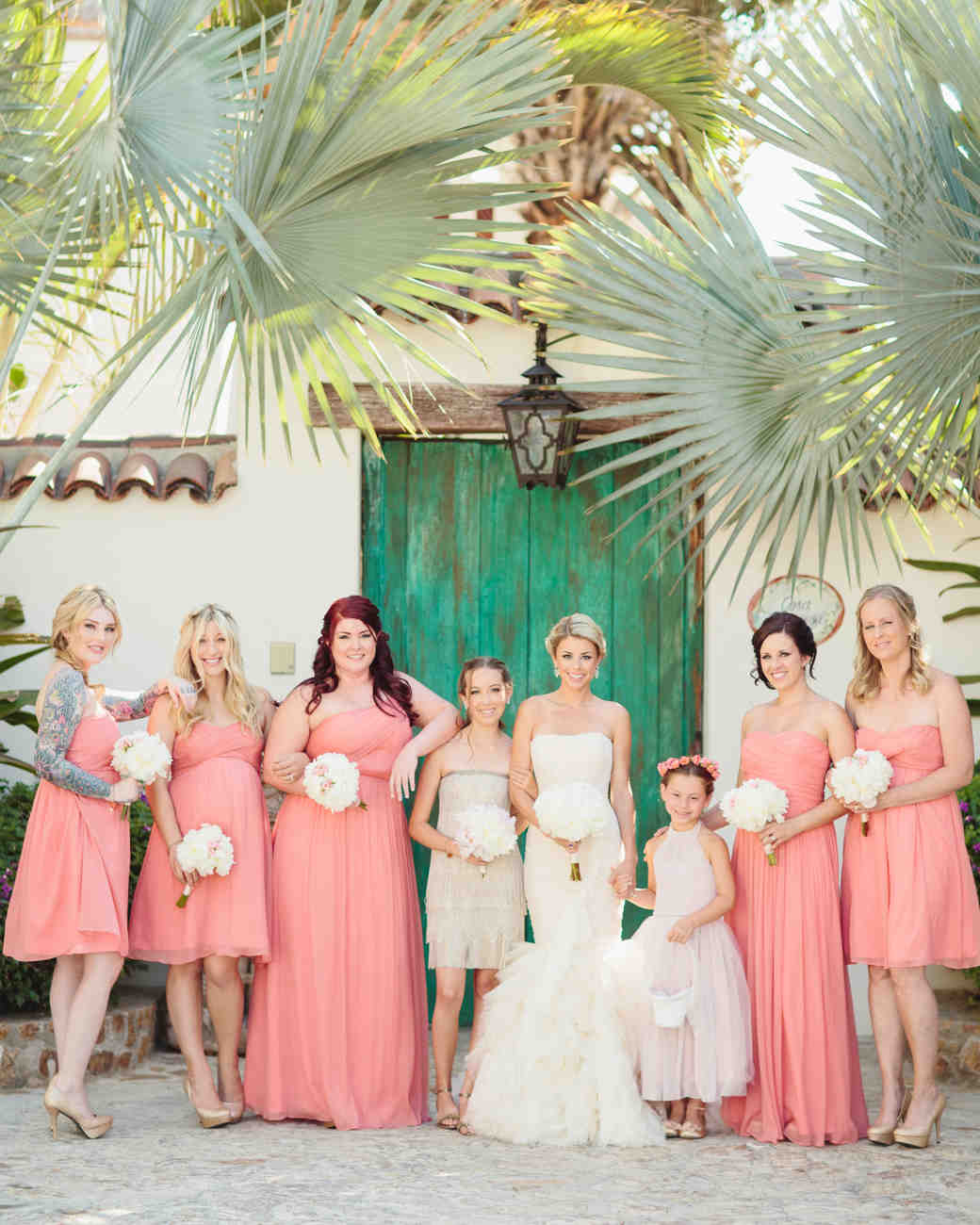 Martha Brides And Bridesmaids In JCrew Dresses