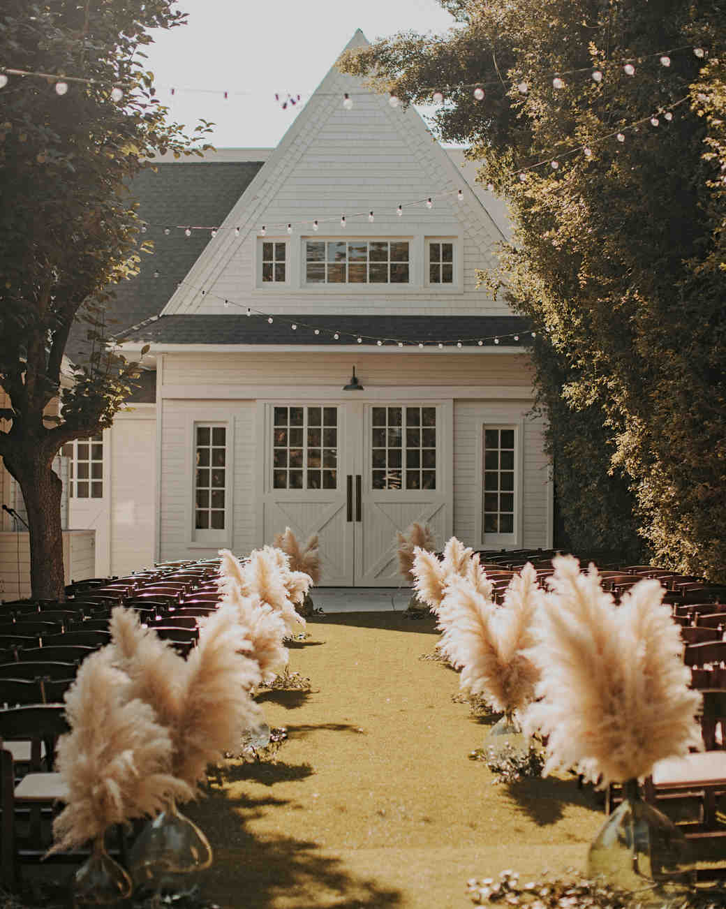 Home wedding