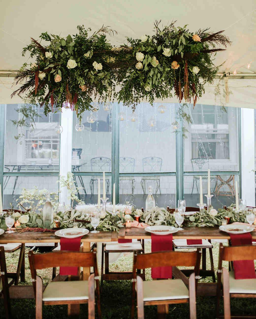 ferbie rob boho wedding reception table