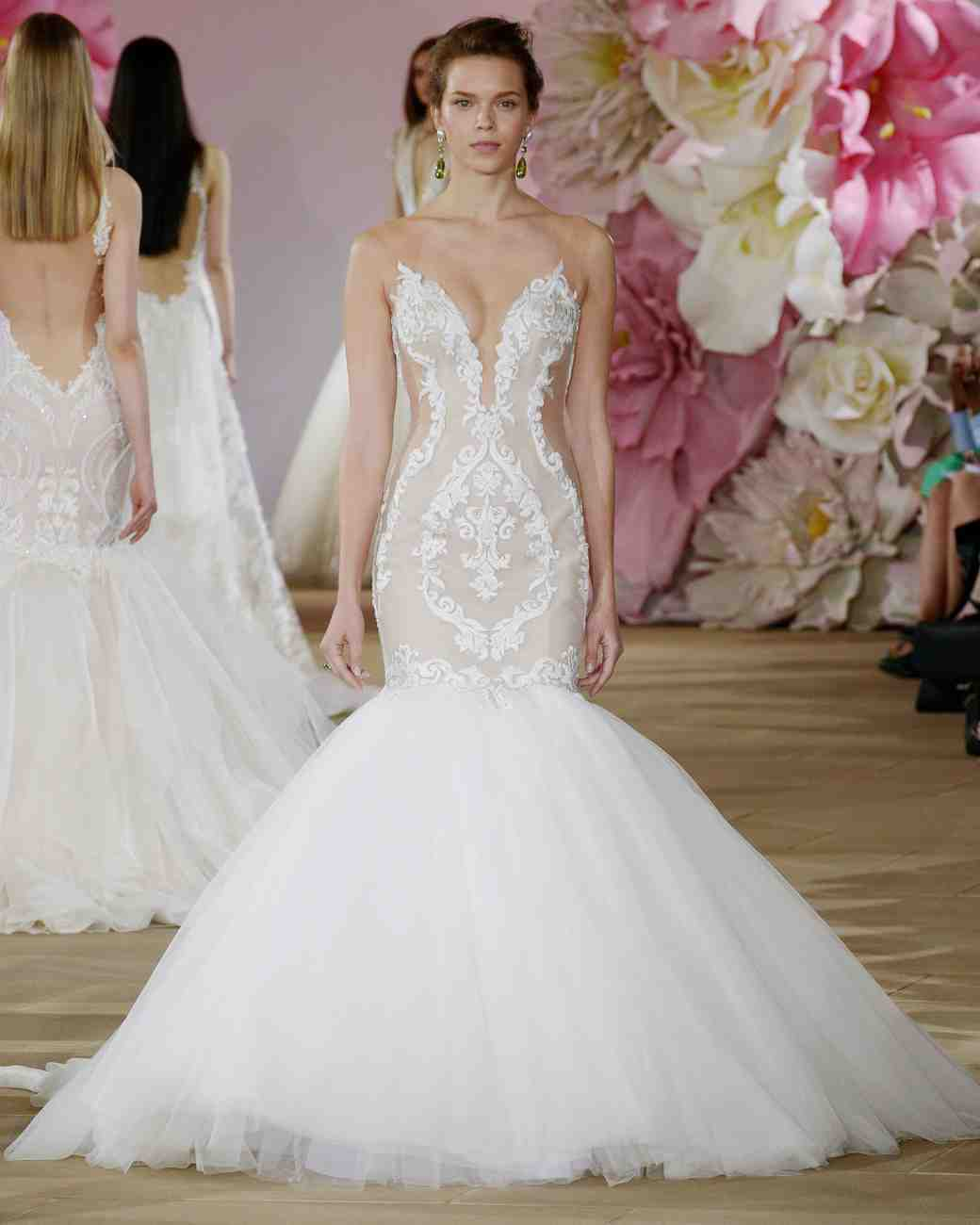 "Ines di Santo ""Stunning"" Mermaid Gown"
