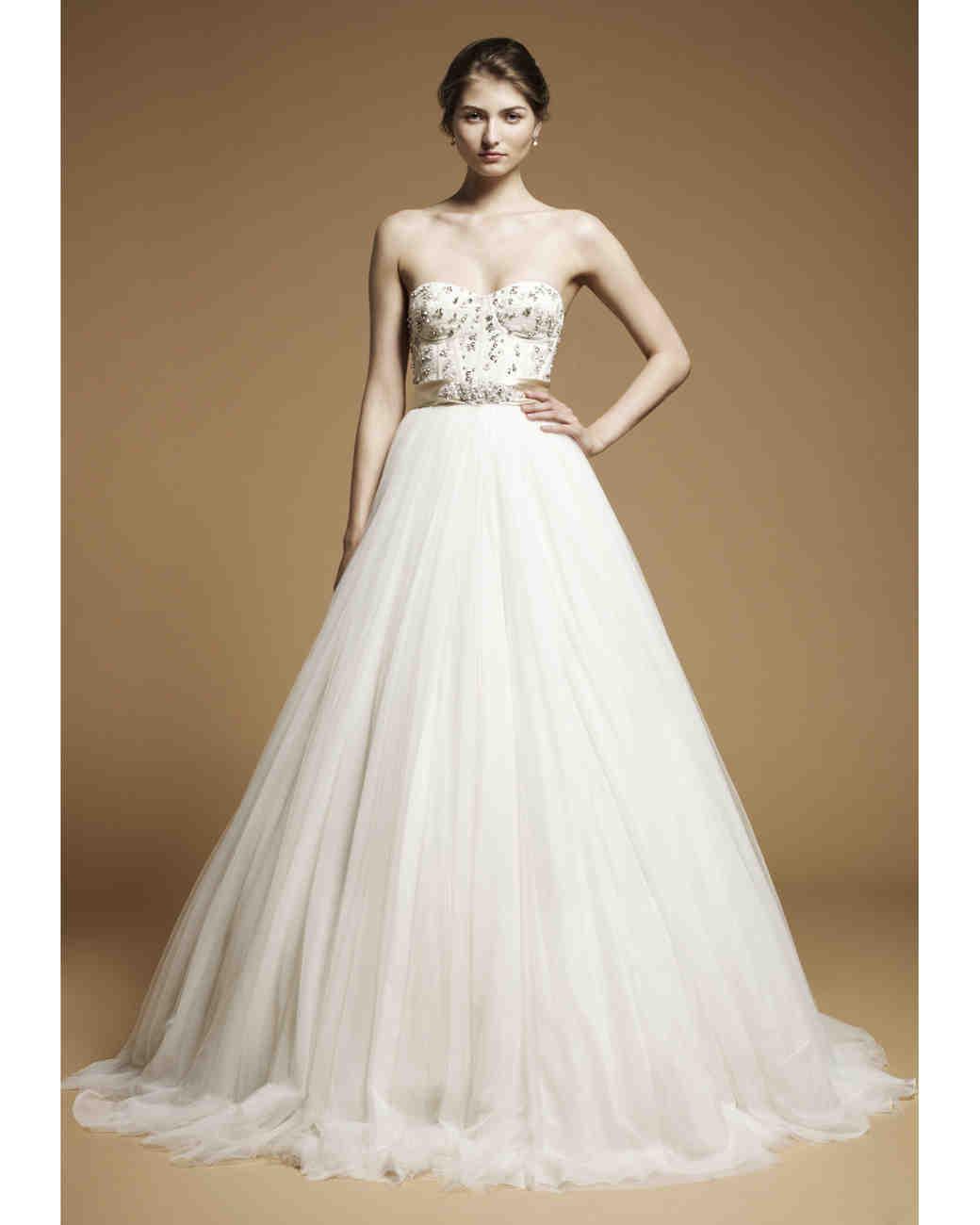 Jenny Packham, Fall 2012 Collection | Martha Stewart Weddings